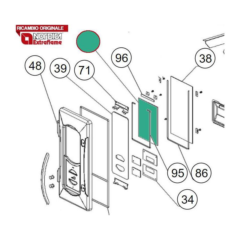 Cartello Servizi Sanitari 30x20