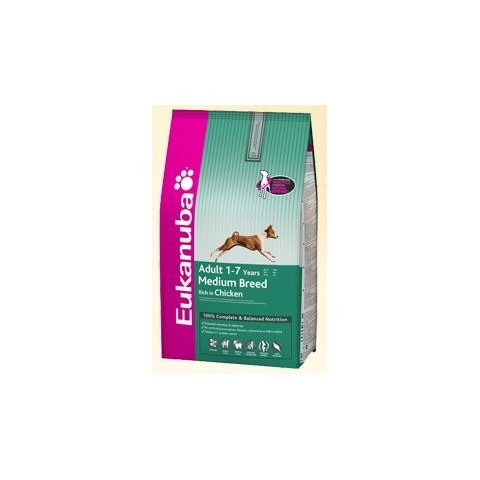EUKANUBA - Adult Medium Breed kg 12