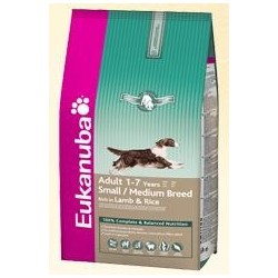 EUKANUBA - Adult Lamb & Rice Medium kg 3