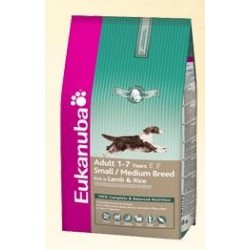 EUKANUBA - Adult Lamb & Rice Medium kg 12