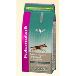 EUKANUBA - Adult Lamb & Rice Large kg 3