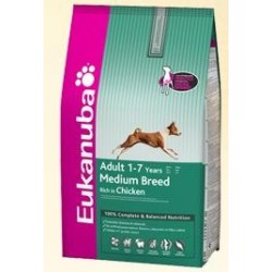 EUKANUBA - Adult Medium Breed kg 3