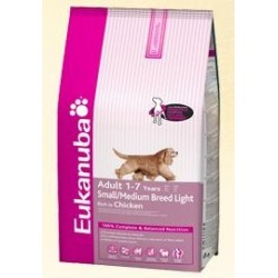 EUKANUBA - Light Small-Medium Breed kg 3
