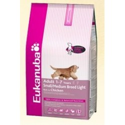 EUKANUBA - Light Small-Medium Breed kg 12