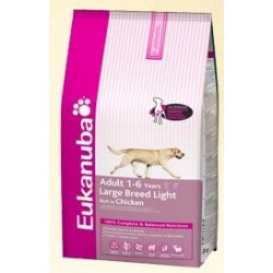 EUKANUBA - Light Large Breed kg 12