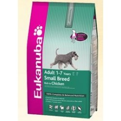 EUKANUBA - Adult Small Breed Kg 3