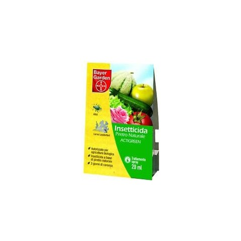 BAYER - Piretro Actigreen -Insetticida- ml 20