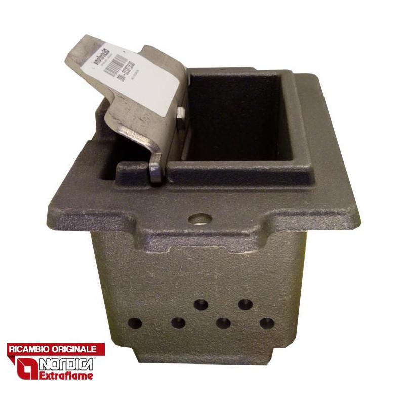 LA NORDICA - Cucina a legna ROMANTICA 3.5 SX MARRONE SFUMATO