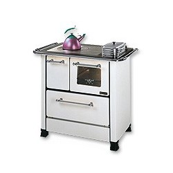 LA NORDICA - Cucina a legna ROMANTICA 3.5 DX BIANCA