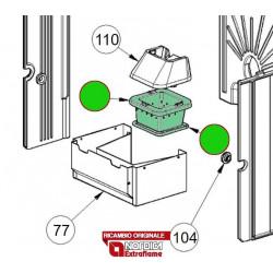 LA NORDICA - Cucina a legna ROMANTICA 3.5 DX CAPPUCCINO