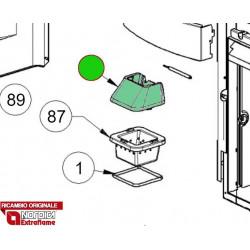 LA NORDICA - Cucina a legna ROMANTICA 3.5 DX MARRONE SFUMATO