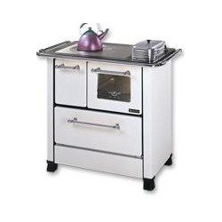 LA NORDICA - Cucina a legna ROMANTICA 4.5 SX BIANCA