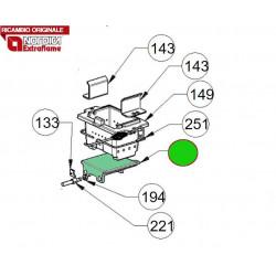 LA NORDICA - Cucina a legna ROMANTICA 4.5 SX MARRONE SFUMATO