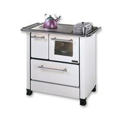 LA NORDICA - Cucina a legna ROMANTICA 4.5 DX BIANCA