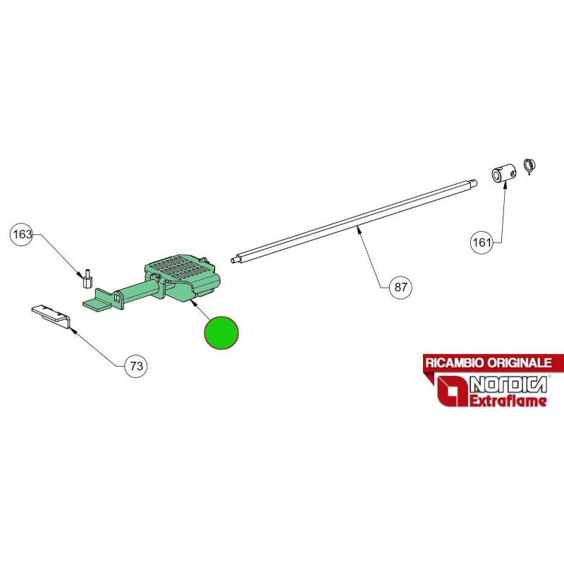 LA NORDICA - Cucina a legna ROMANTICA 4.5 DX CAPPUCCINO