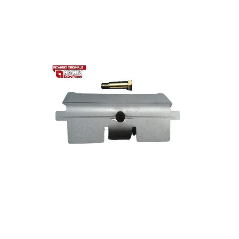 LA NORDICA - Cucina a legna ROMANTICA 4.5 DX MARRONE SFUMATO