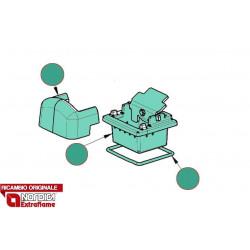 LA NORDICA - Cucina a legna ROSA BORDEAUX