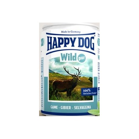 HAPPY DOG - SELVAGGINA 400 gr. lattina