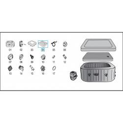 INTEX - 10849 adattatore con collare