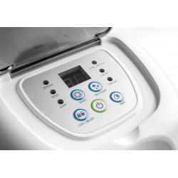 Tubo flessibile inox doppia parete liscio interno cm 14