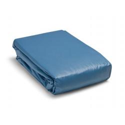 Tubo flessibile inox doppia parete liscio interno cm 8