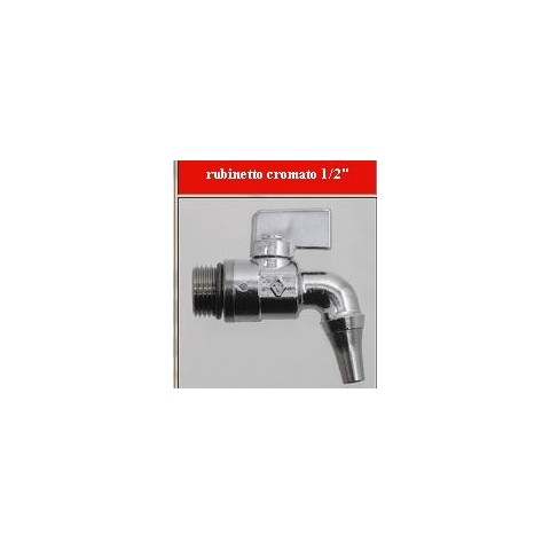 4 EFFE-TABEC - Rubinetto cromato 1803 x fusti