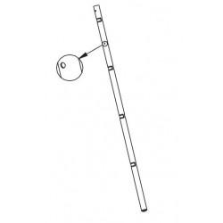 EXTRAFLAME - COPERTURA CERAMICA BORDEAUX MELINDA 007273212