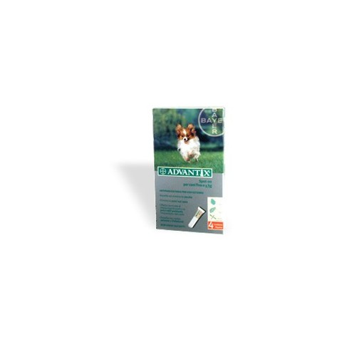 BAYER - Advantix Spot On x cani fino a 4 kg 4 pipette