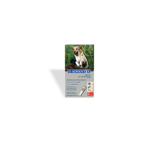 BAYER - Advantix Spot On x cani oltre 25 kg 4 pipette