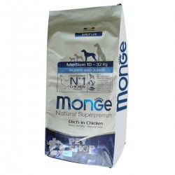MONGE Puppy e Junior MEDIUM kg 12