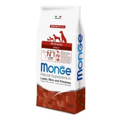 MONGE Agnello Riso e Patate All Breeds 12 kg