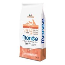 MONGE Salmone Riso e Patate All Breeds 12 kg