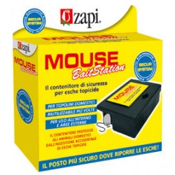 ZAPI - MOUSE Rat Bait Station 125X95X40 mm