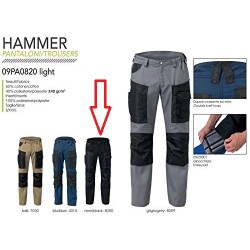 SIGGI - Pantaloni HAMMER TAGLIA M 60% COTONE