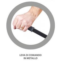 LA NORDICA - Treccia tricotex mm 12 bianca/grigia mt 2